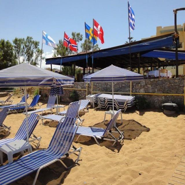Minerva beach hotel | Chania Crete