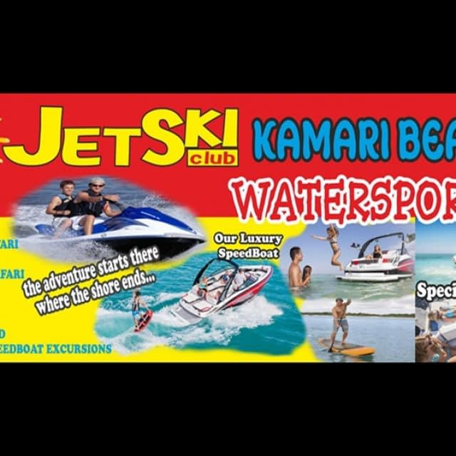WATERSPORTS SANTORINI | KAMARI BEACH WATERSPORTS JET SKI CLUB