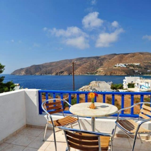 Hotel-Rental rooms | Karkisia Hotel | Amorgos
