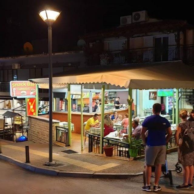 Souvlaki shop-Fast Food | Neos Marmaras Halkidiki | Giannakis Fast Food