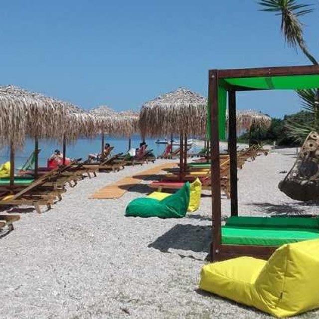 Beach Bar-Water Sports   Jammin in Paradise   Meganisi Lefkada
