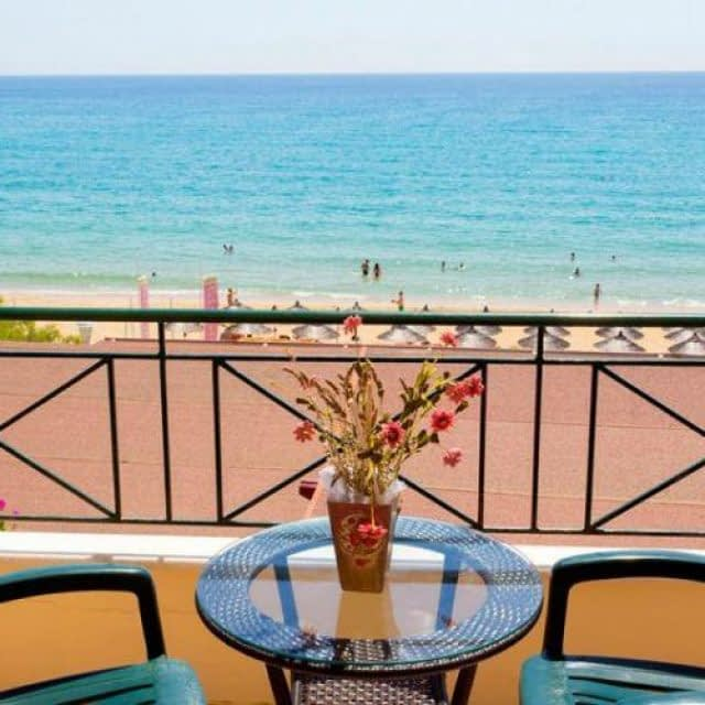 Hotel-rooms to let   Achilleas  Loutsa beach Preveza